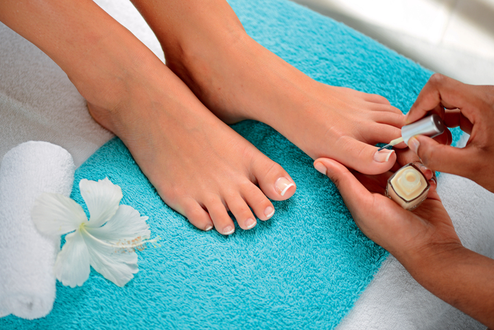 Ambre Spa Pedicure Process