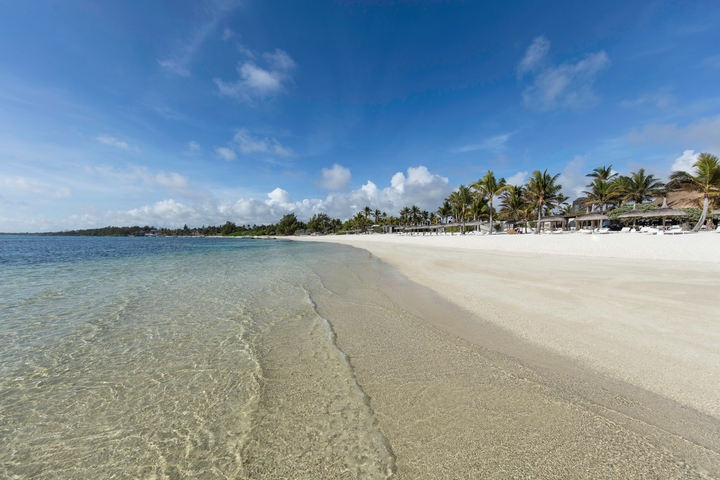 Gorgeous sun resorts beaches Mauritius